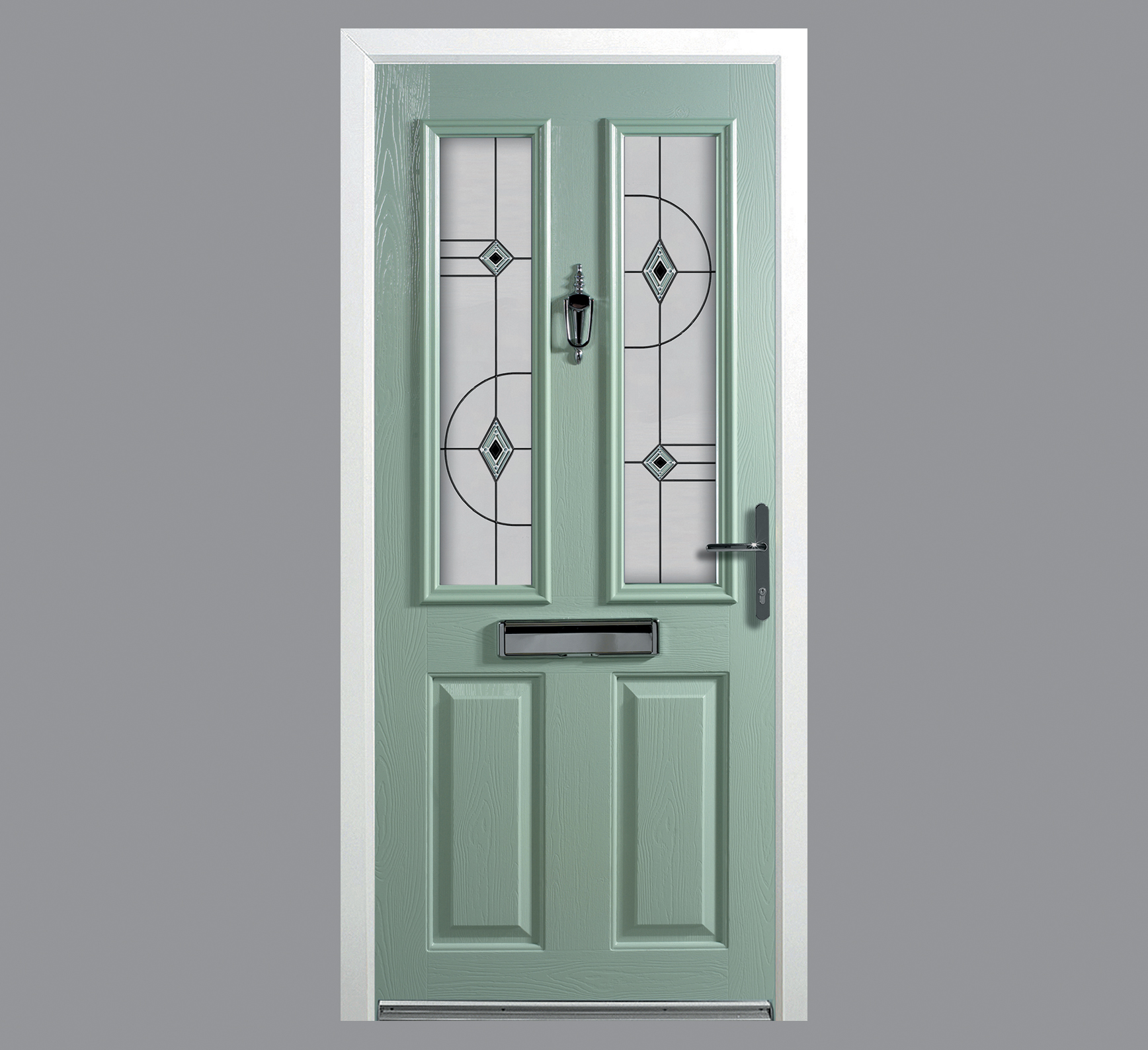 http://www.dualaspectglass.com/wp-content/uploads/2014/04/bFoley-Green-Door-shown-with-Abstract-colour-match-glass.jpg