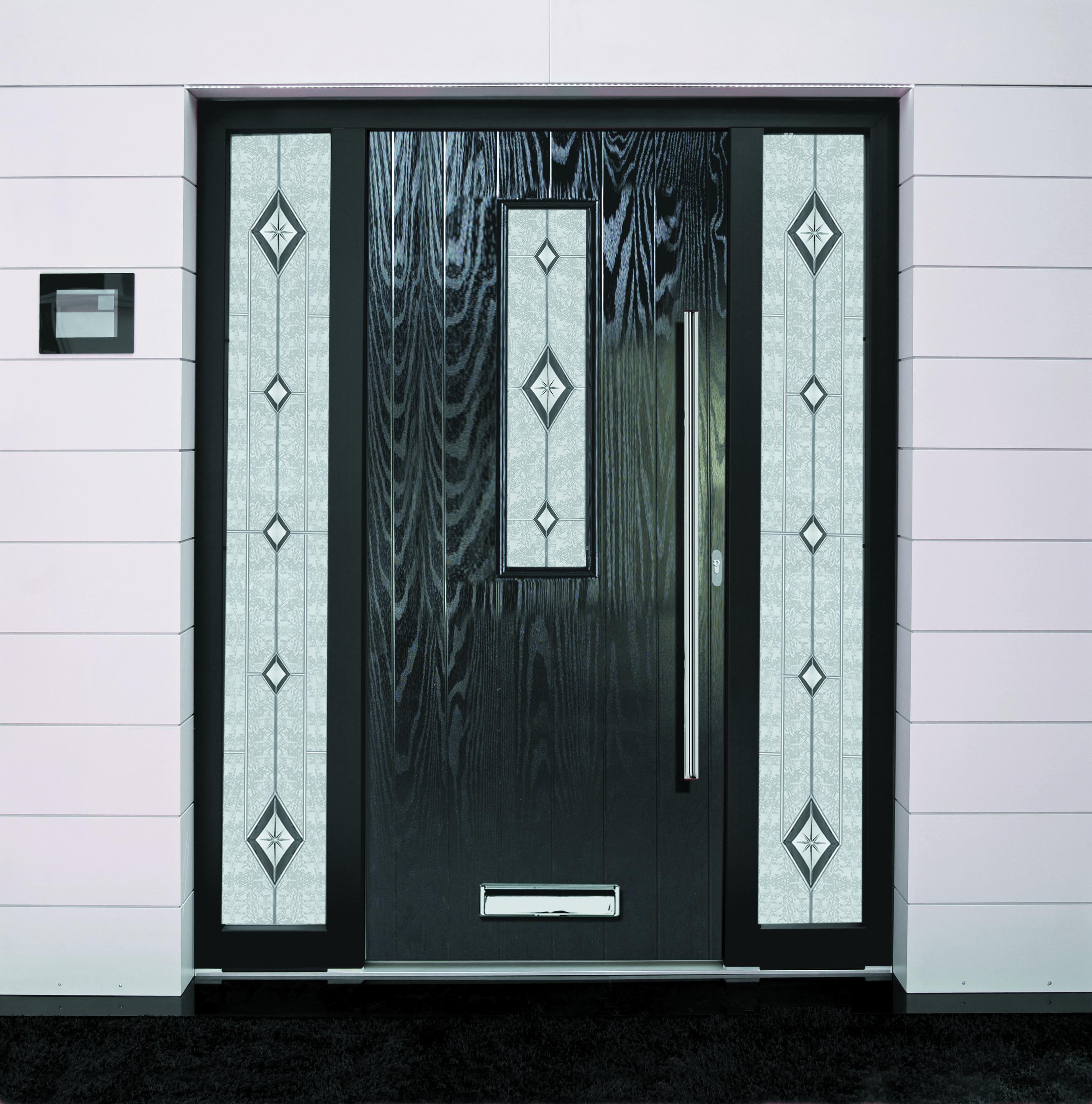 Outside Door Dual Aspect Glass